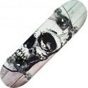 Skateboard Tribe Pro White Skull Nextreme 79x20 cm