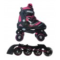 Pattini Reverse 2 in 1 a Rotelle Trasformabili In Linea Quad Skates Nextreme
