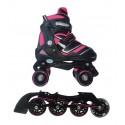 Pattini Reverse 2 in 1 a Rotelle Trasformabili In Linea Quad Skates Nextreme
