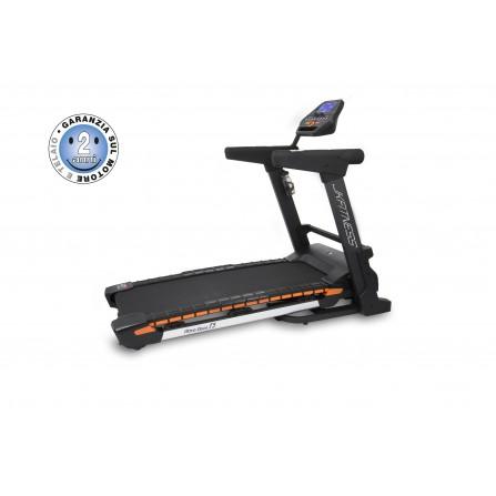 Tapis Roulant JK T5 con innovativa pedana Wave Deck Ammortizzata Autolubrificante JK Fitness