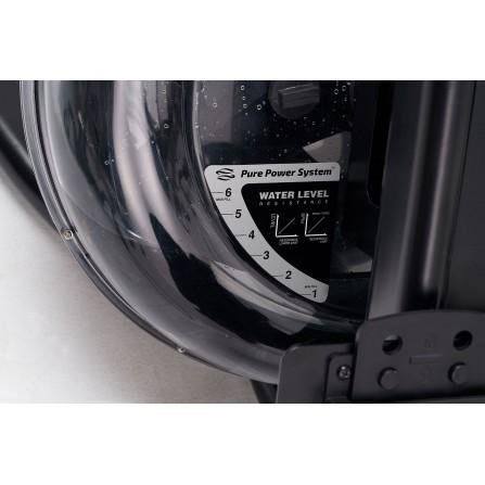 Vogatore RWX 3000 ad acqua con ricevitore Toorx salvaspazio Chrono Pro Line