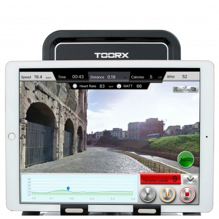 BRX 300 ERGO Toorx Cyclette Ergometro con App Ready e ricevitore wireless
