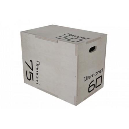 Plyo Box in legno altezze 50-60-75 cm Diamond