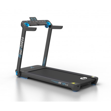 MF TOPSLIM tapis roulant Movi Fitness con fascia cardio inclusa salvaspazio