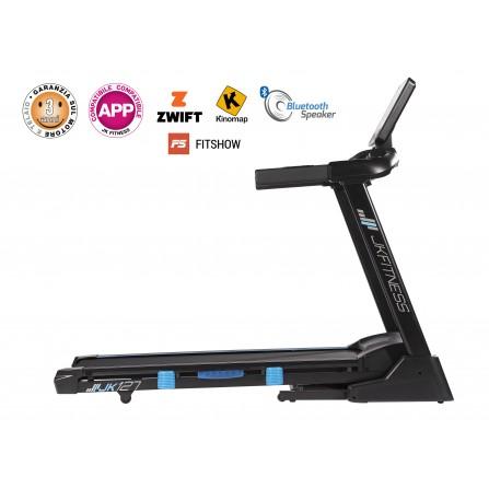 JK 127 Tapis roulant JK FITNESS compatibile con APP fascia cardio inclusa