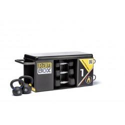 RAMBOX-S BLACK PACK stazione multiuso salvaspazio con panca jump box step e molto altro