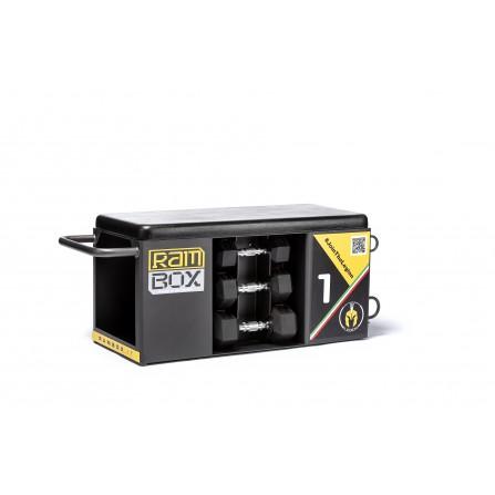 RAMBOX-S WHITE PACK stazione multiuso salvaspazio con panca jump box step e molto altro