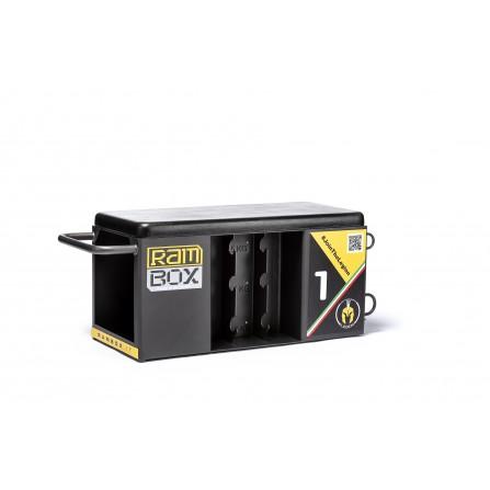 RAMBOX-S NAKED stazione multiuso salvaspazio con panca jump box step e molto altro